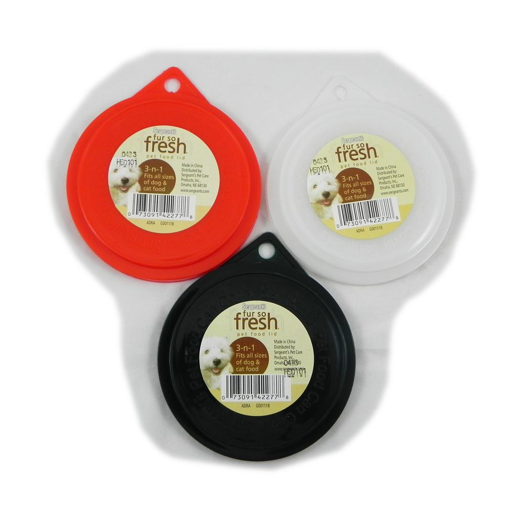 Single Pet Food Can Cover for all size cans