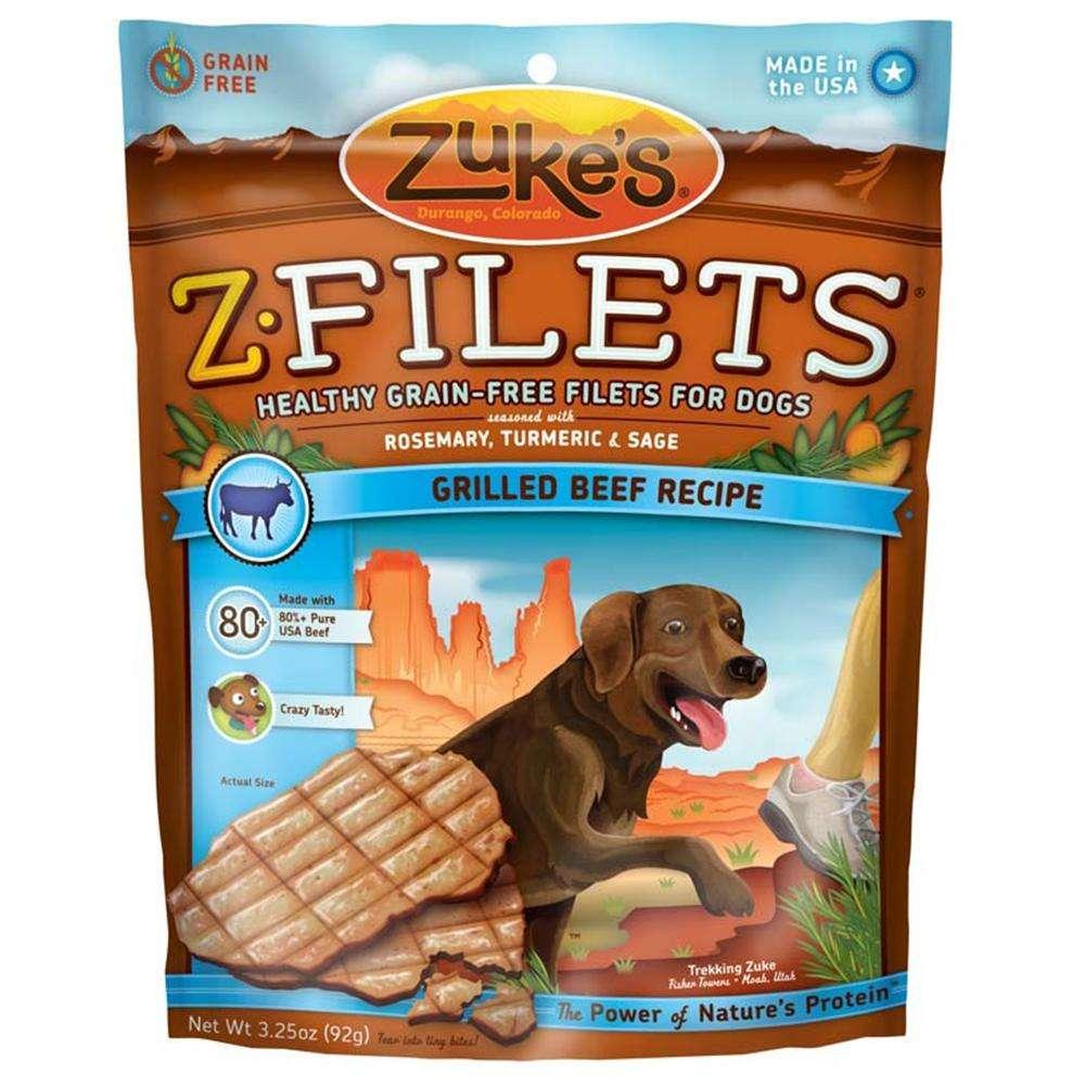 Zuke's Z-Filets Basted Beef Dog Treat