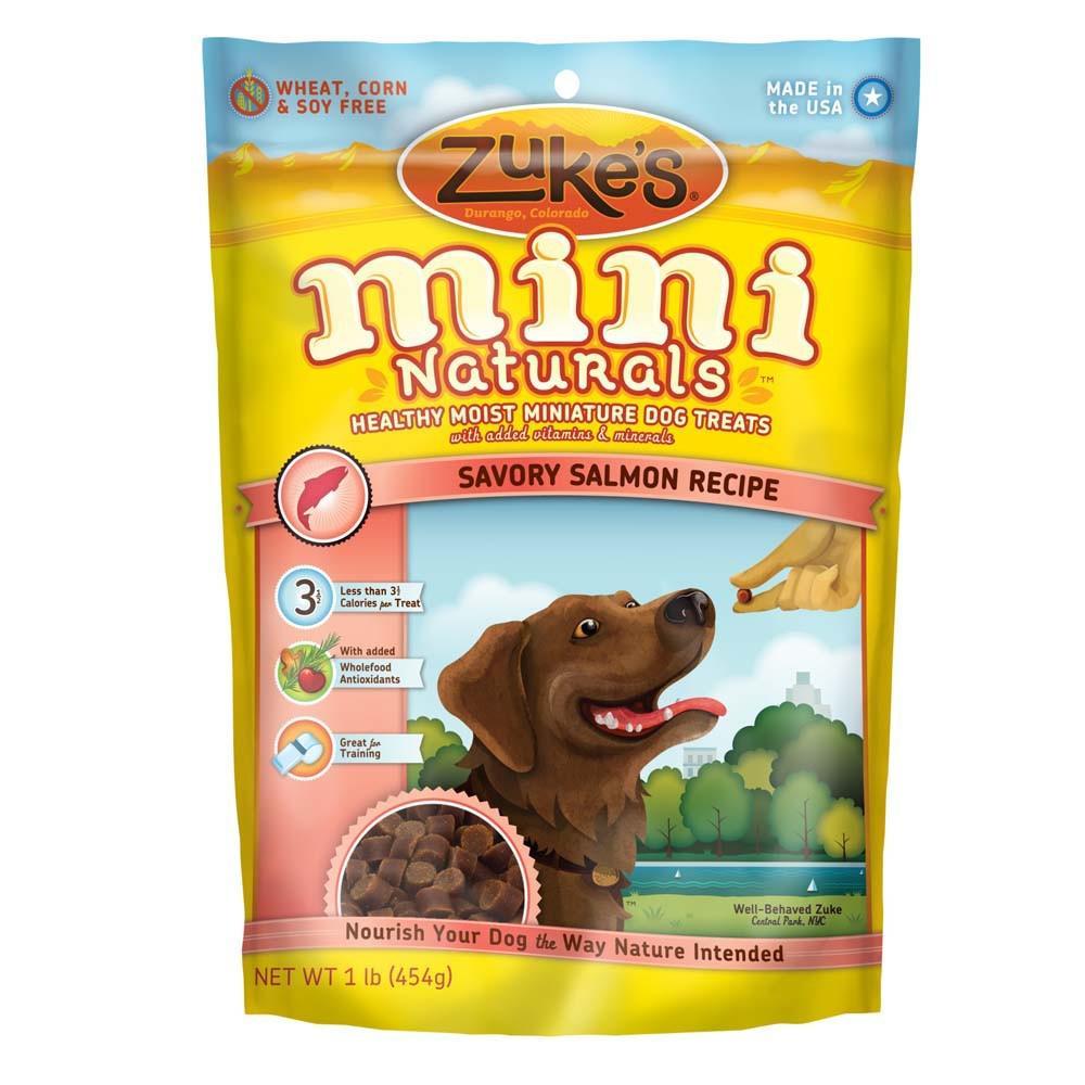 Zuke's Mini-Naturals Salmon 1 Pound Dog Treat