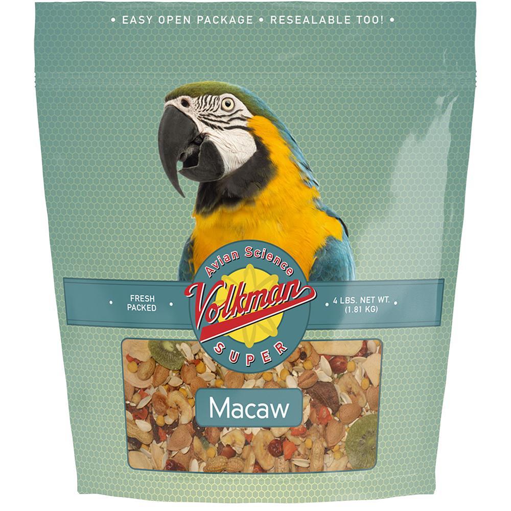 Avian Science Super Macaw Mix 4-lb