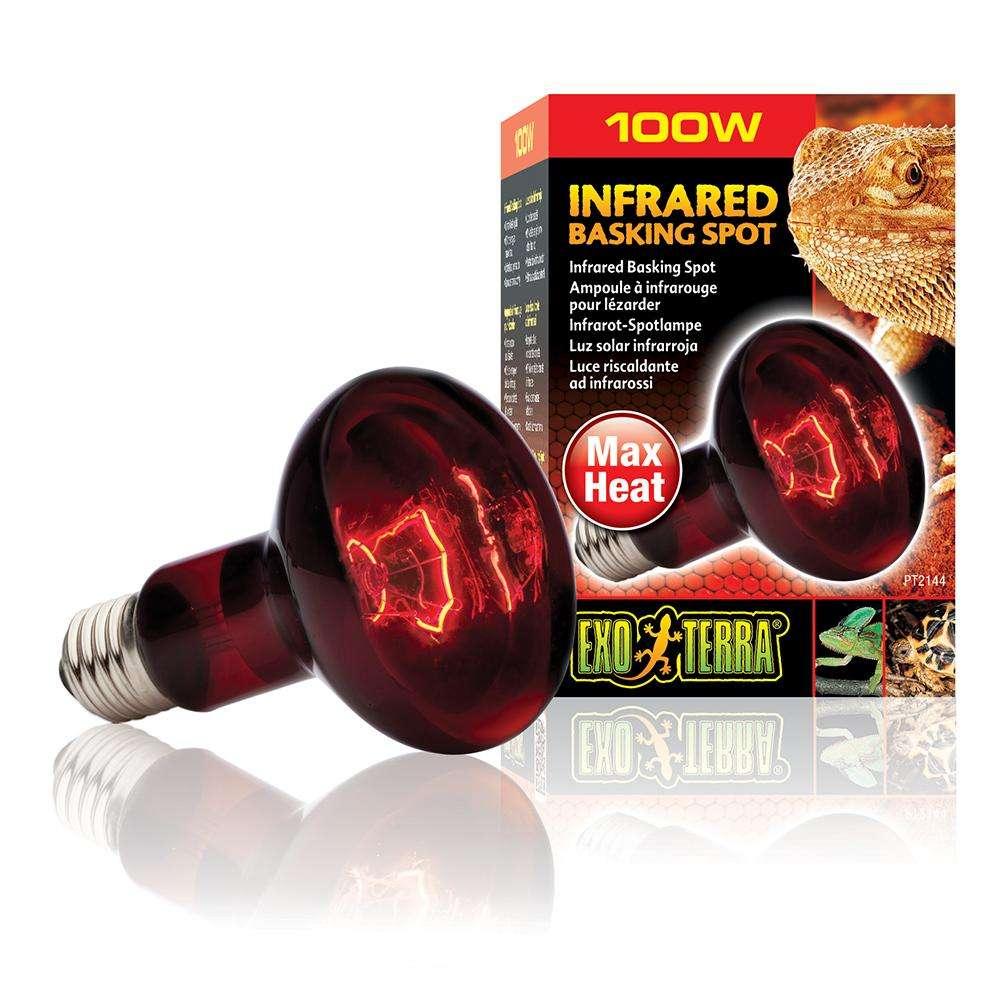 Exo Terra Infrared Basking Spot Terrarium Bulb 100 Watt