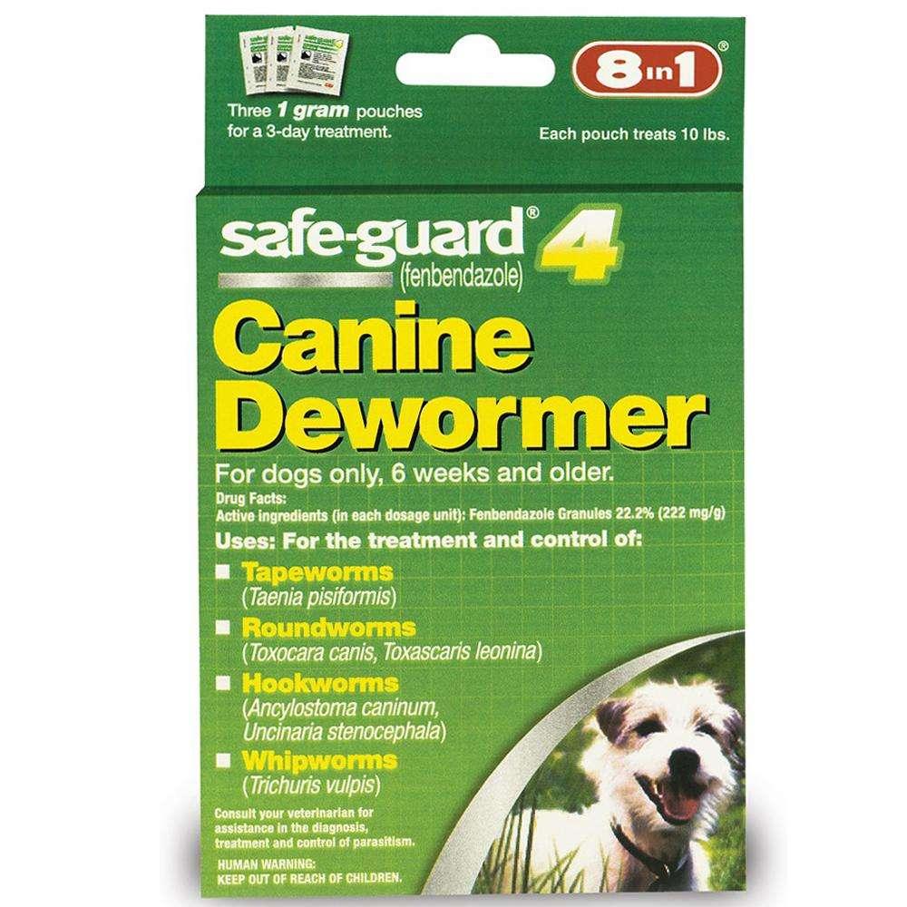 Safe-Guard Canine Dewormer 1 Gram 3 Pack