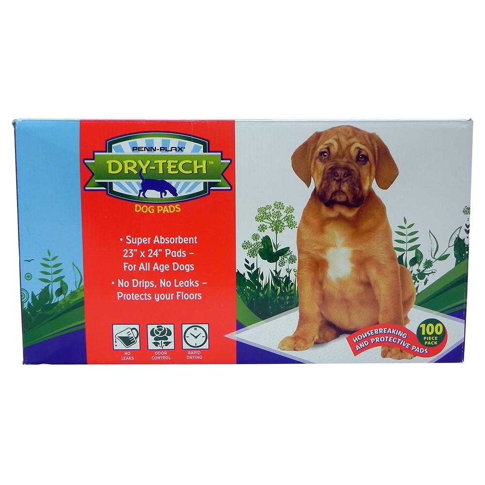 Dry-Tech Dog Housebreaking Pads 100 Pack