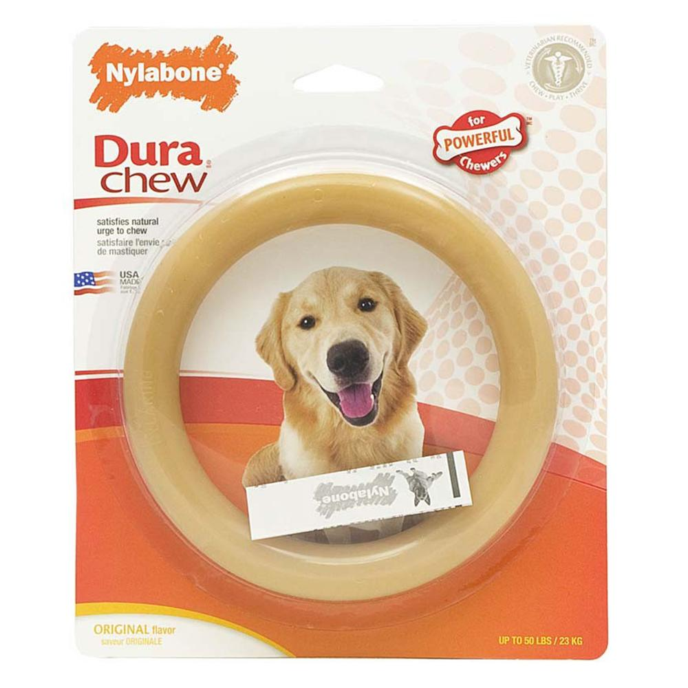 Nylabone Ring Giant-Size Dog Chew Toy