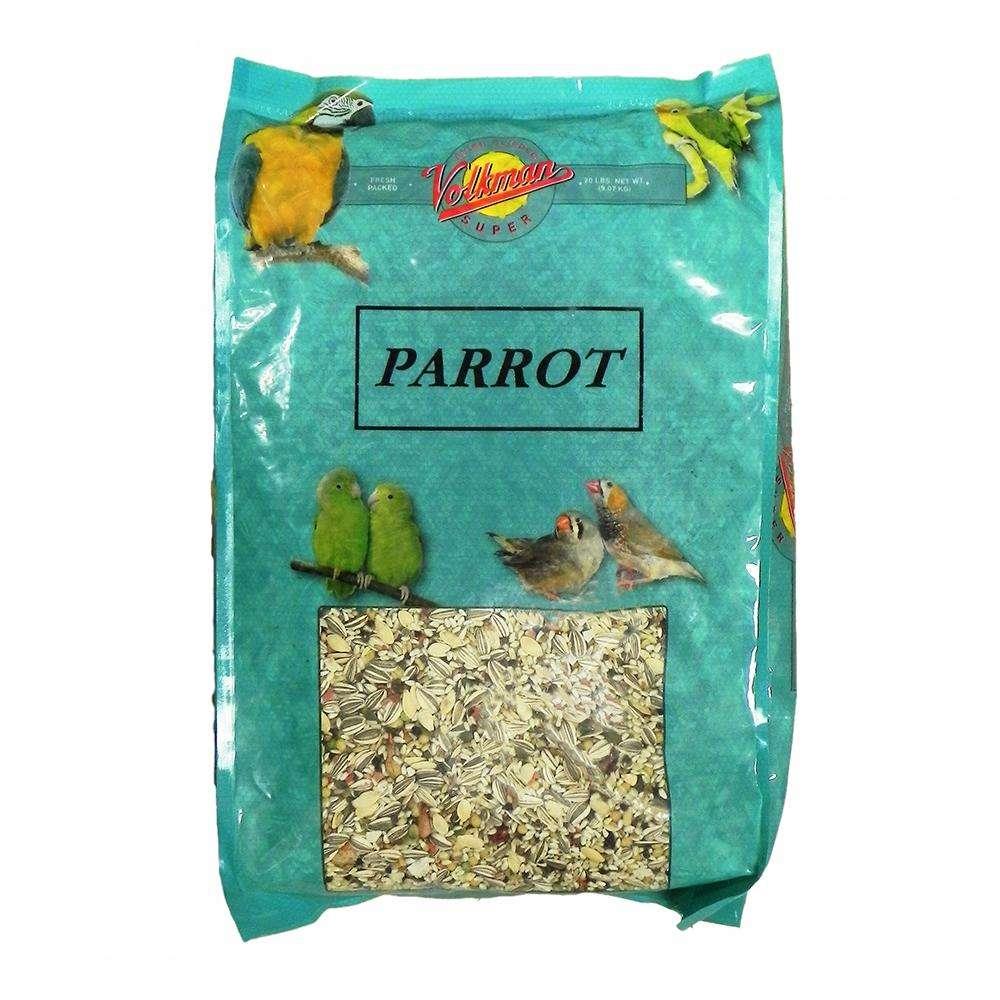 Volkman Avian Science Super Parrot Seed Mix 20 lb
