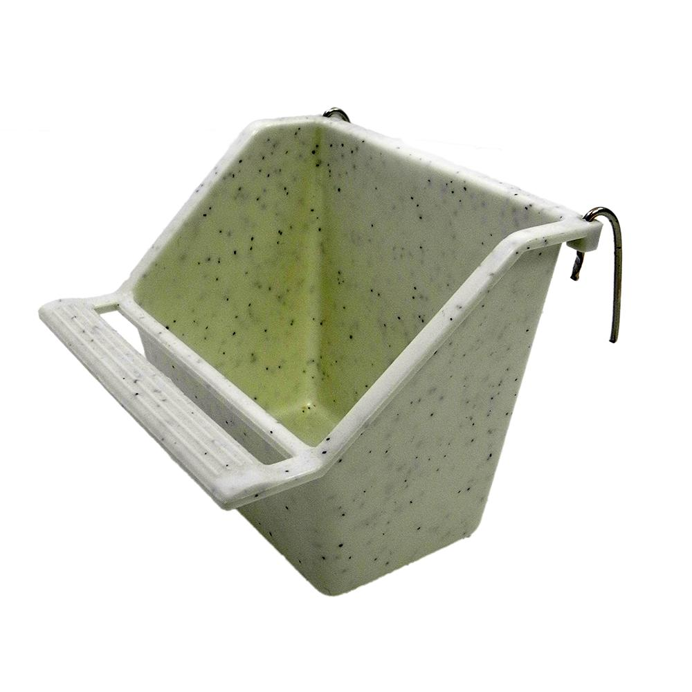 Cup with hooks 4 ounce Bird Food Water