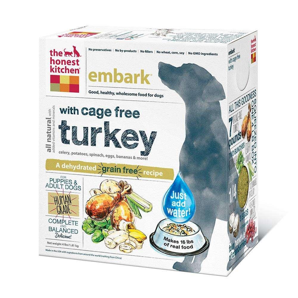 Honest Kitchen Embark Dehydrated RAW Dog Food 4 lb