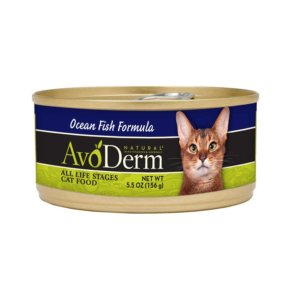 AvoDerm Ocean Fish Canned Cat Food Case