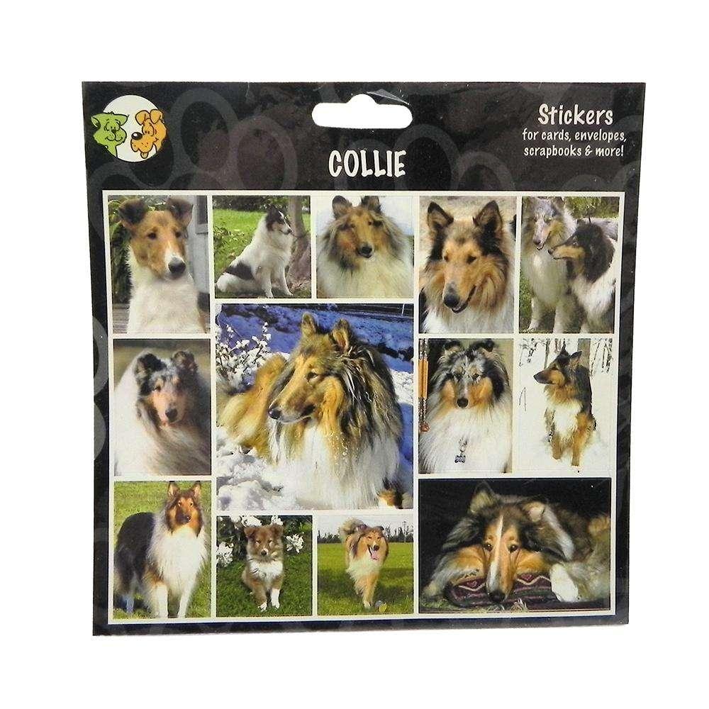 Arf Art Dog Sticker Pack Collie