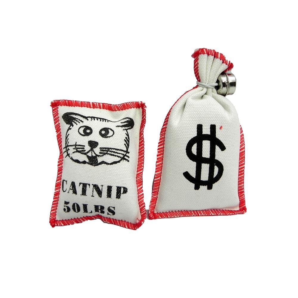 Purr-Pet Catnip Bag Cat Toys 2 Pack