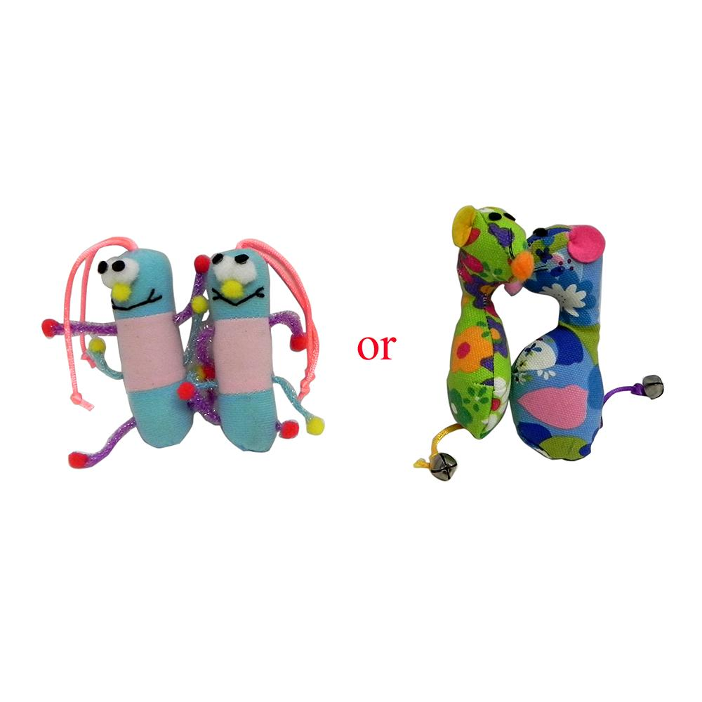 Purr-Pet Velour Critter Friends 2 pack or Cloth Mice 2 pack