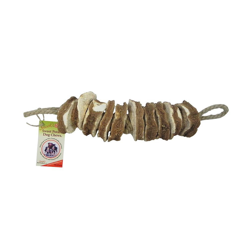 Snook's GMO-Free Sweet Potato Dog Chew Medium