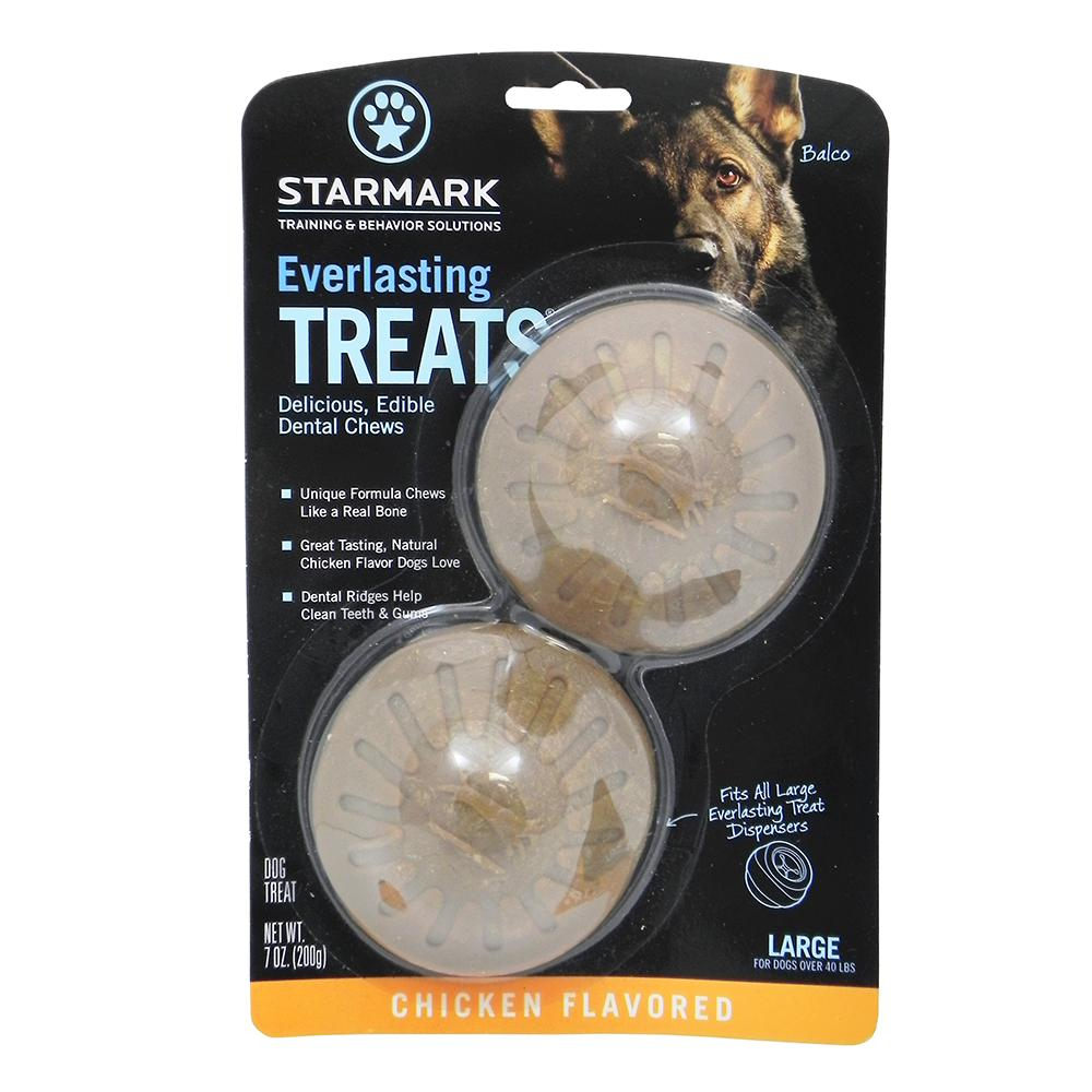 Everlasting Treats refill Chicken Large 2 pack Dog Treat