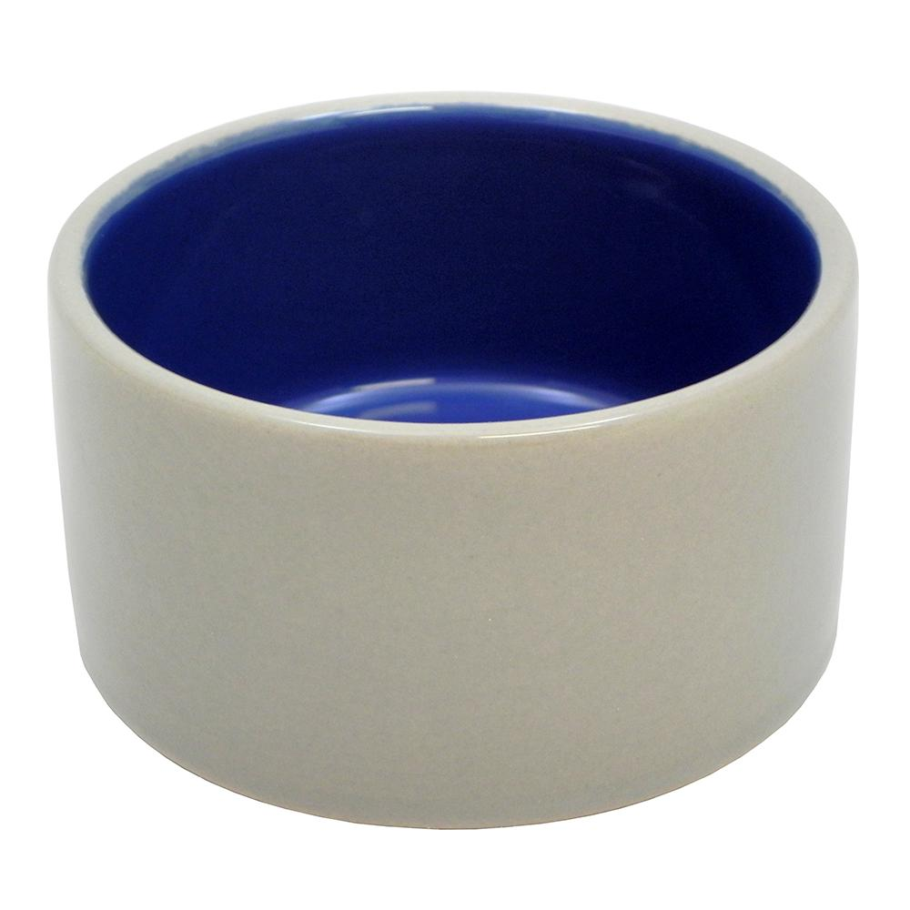 Stoneware Pet Food and Water Crock 4 inch