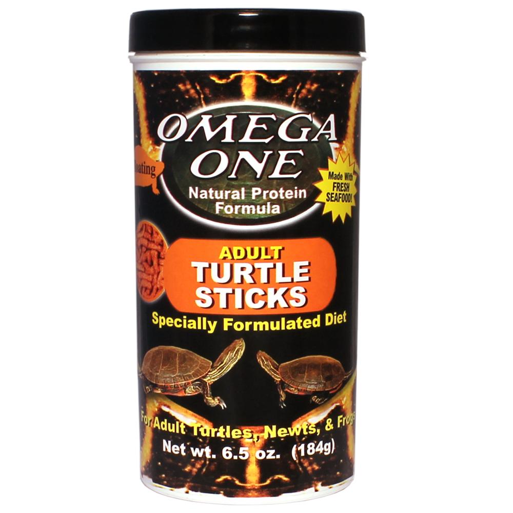 Omega One Floating Adult Turtle Sticks 6.5 oz