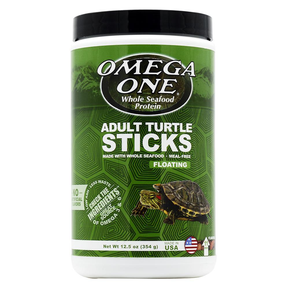 Omega One Floating Adult Turtle Sticks 12.5 oz