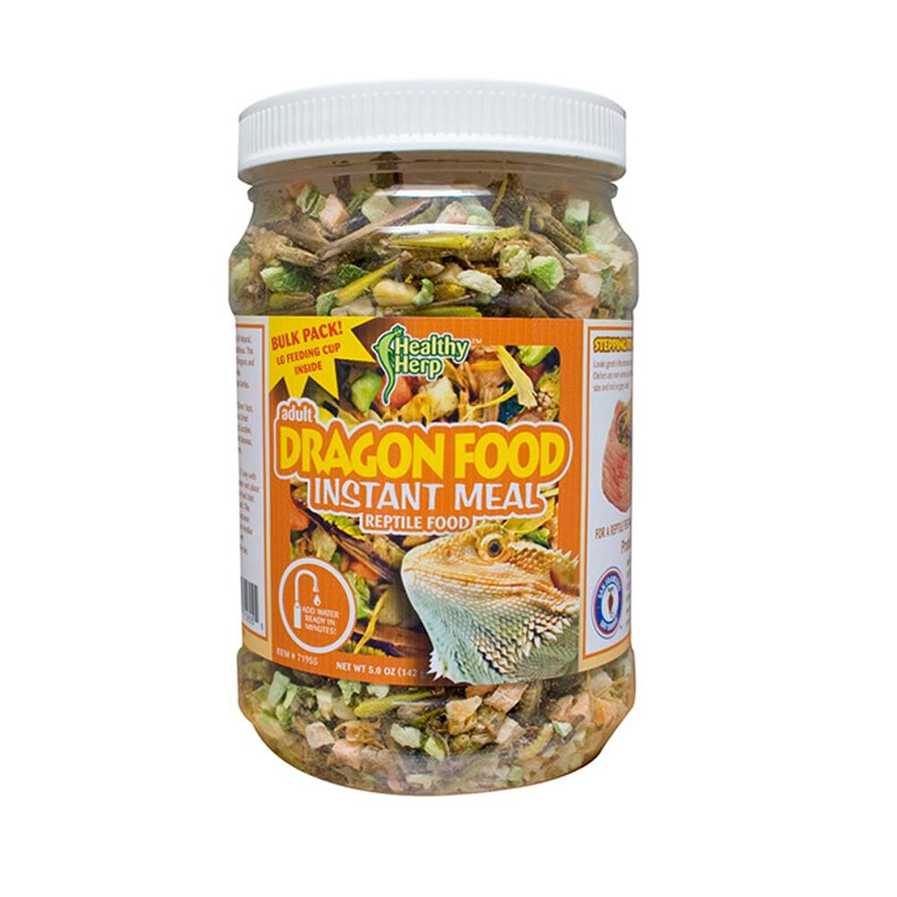 Healthy Herp Dragon Food Instant Meal 3.9 oz Reptile Food