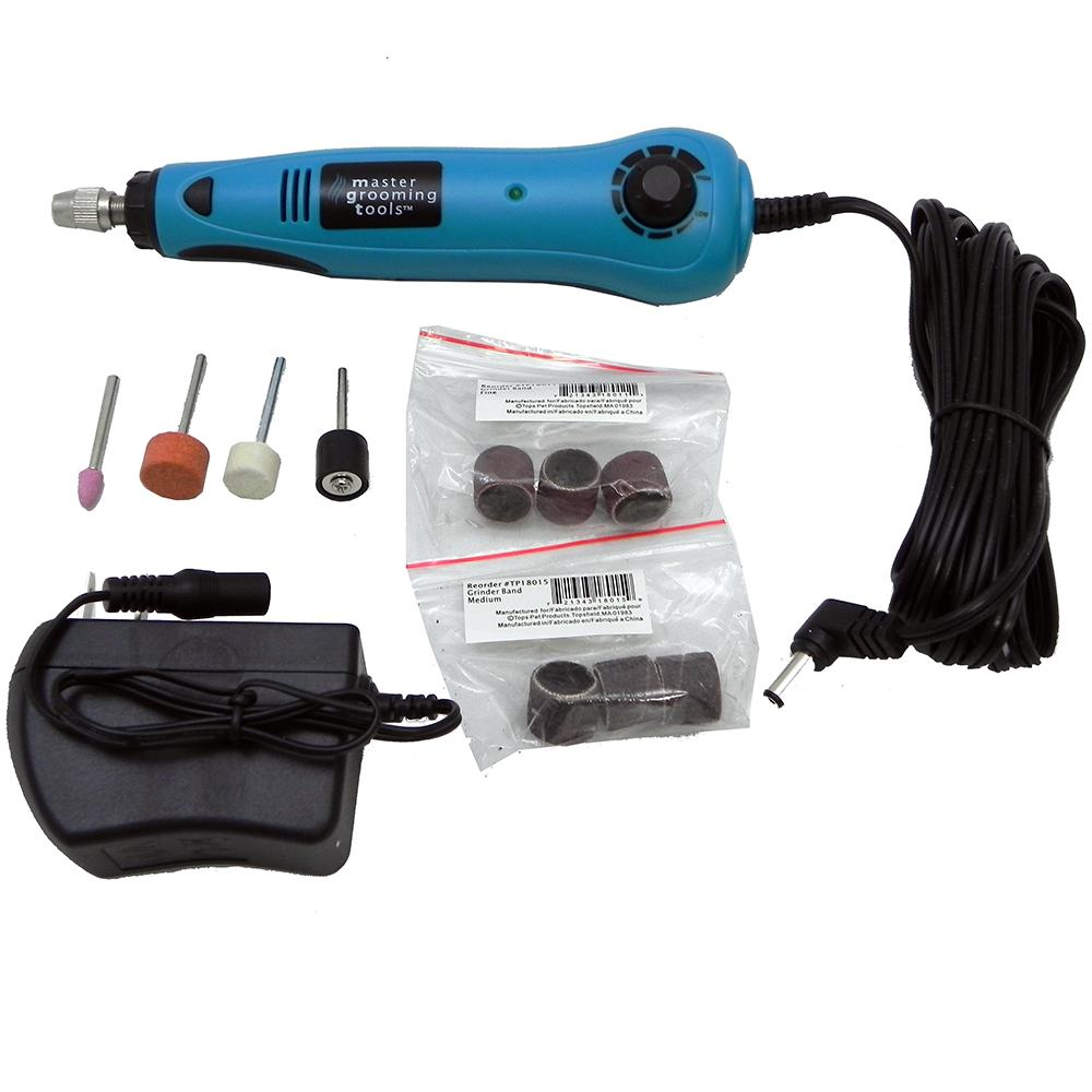 Master Grooming Pet Nail Grinder Kit
