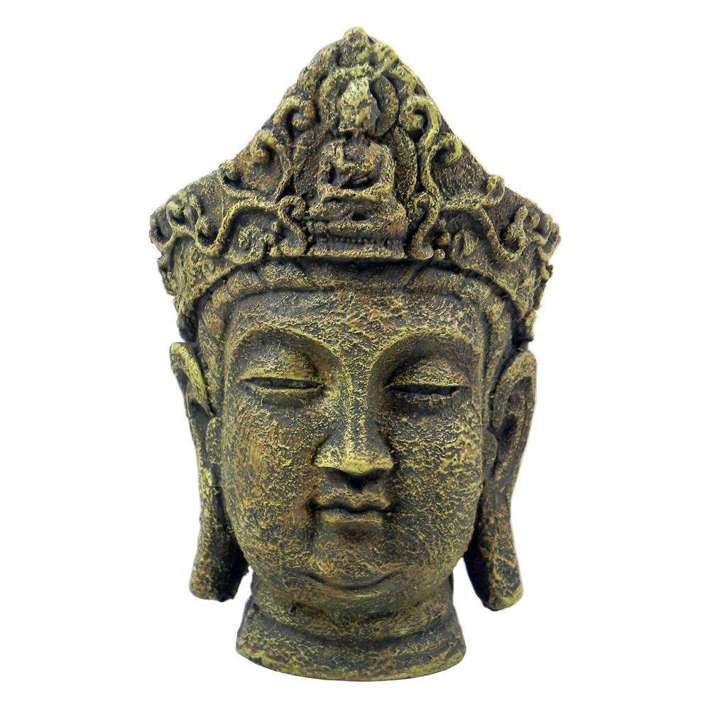 Buddha Head Large Aquarium Ornament