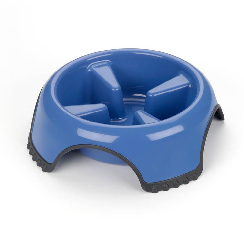JW Slow Feed Dog Food Water Bowl Jumbo