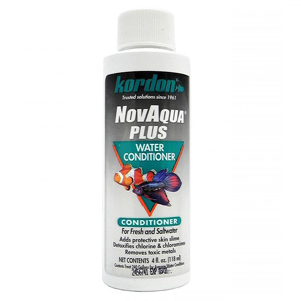 Novaqua Plus 4 ounce Aquarium Water Conditioner