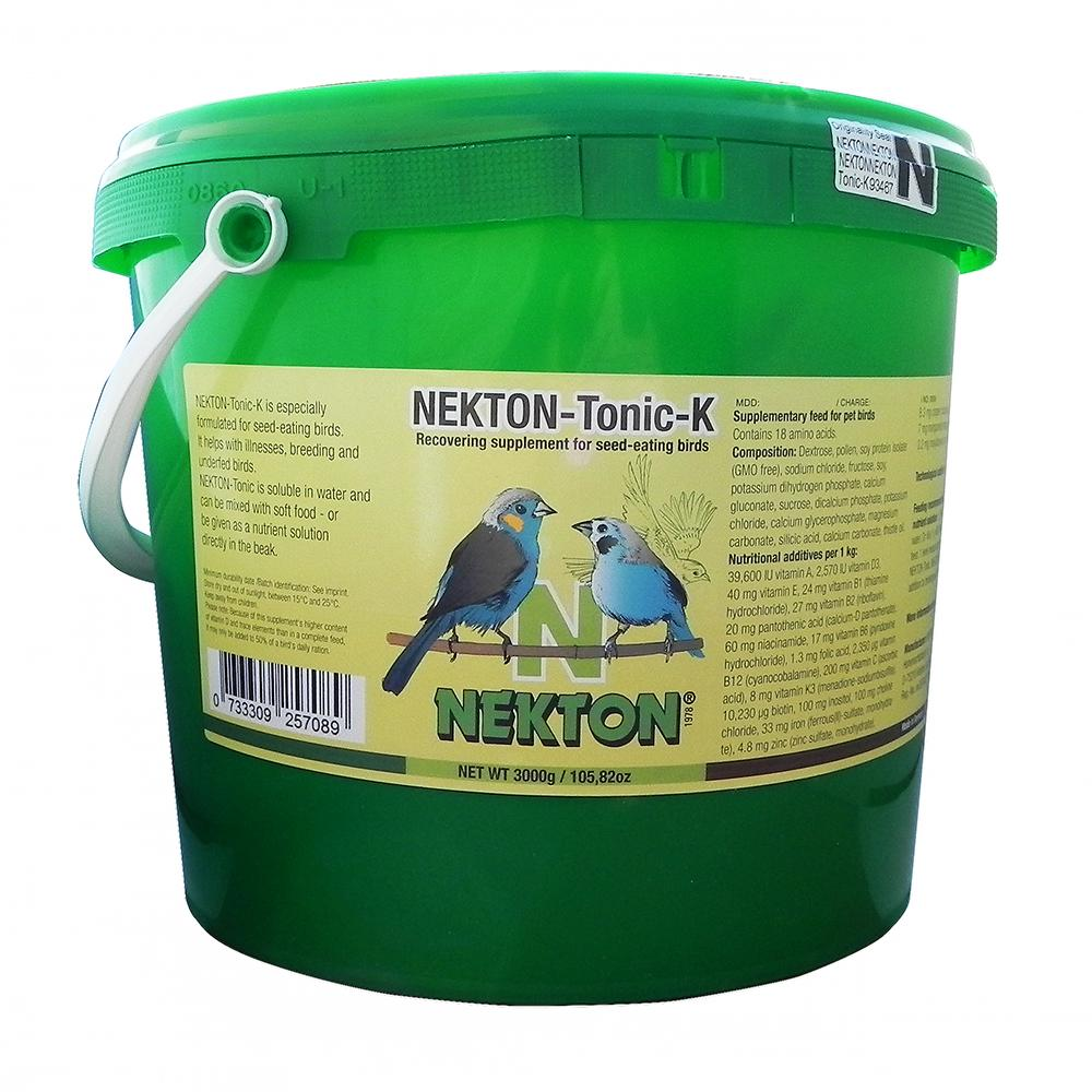 Nekton-Tonic-K for seed-eating birds 3000g (6.6lbs)
