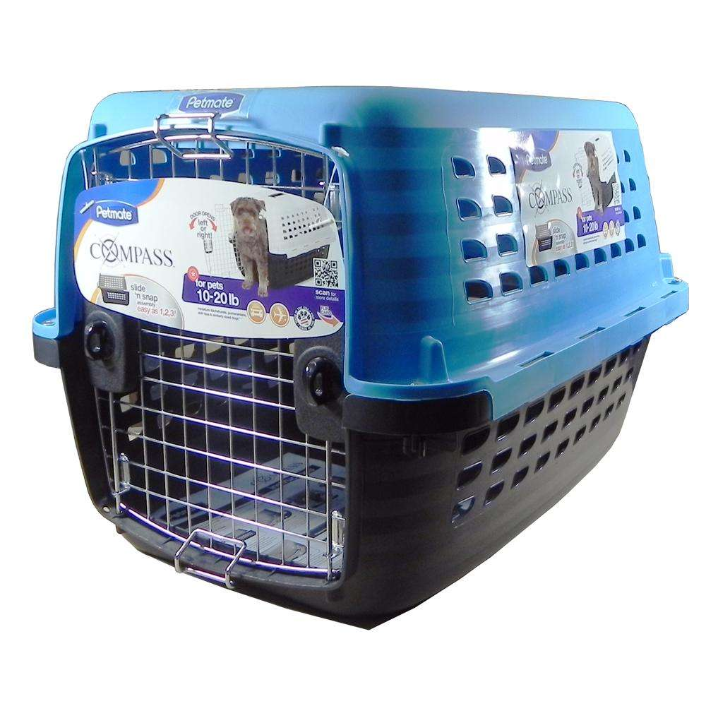 Petmate Compass Pet Carrier 24-inch For Pets 10 to 20Lbs.