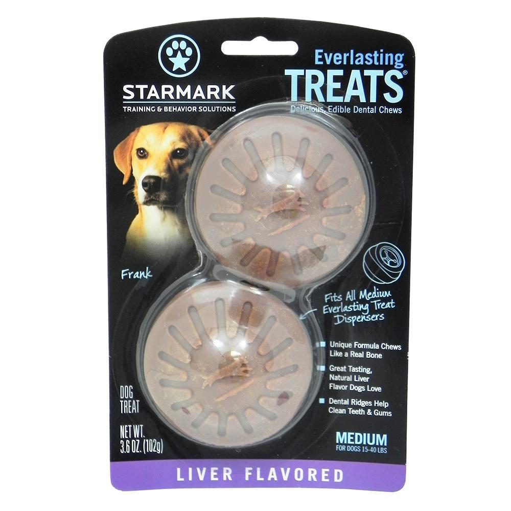 Everlasting Treats refill Liver Medium 2 pack Dog Treat