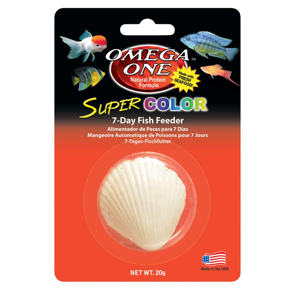 Omega One Super Color Fresh/Marine 7 Day Vacation Fish Food