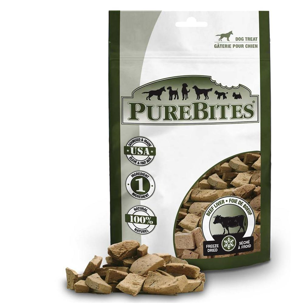 PureBites Freeze Dried Beef Liver Dog Treat 2-oz
