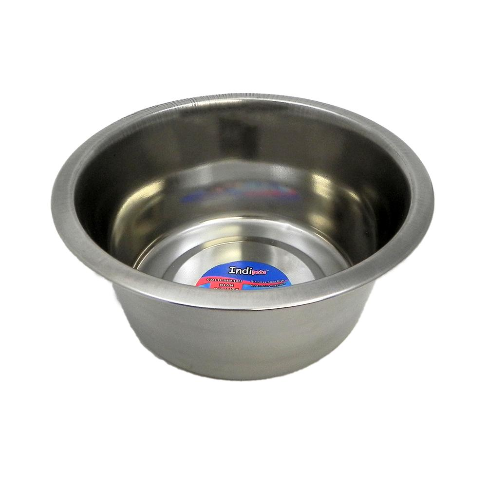 Stainless Steel Dog Food/Water Bowl 1 Qt