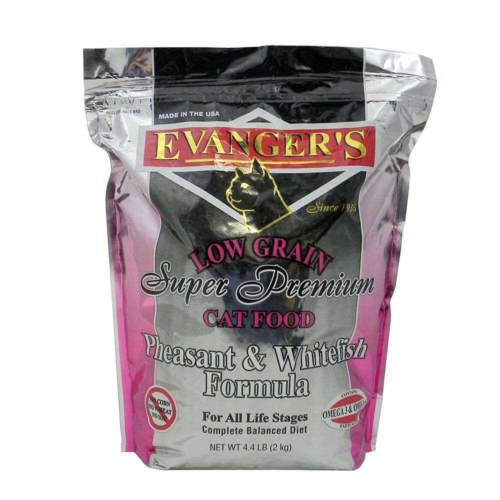Evangers Pheasant & Whitefish Dry Cat Food 4.4 Lb.