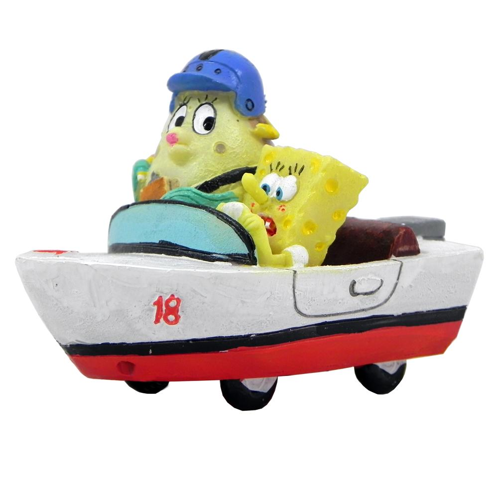 SpongeBob & Mrs. Puff Aquarium Ornament