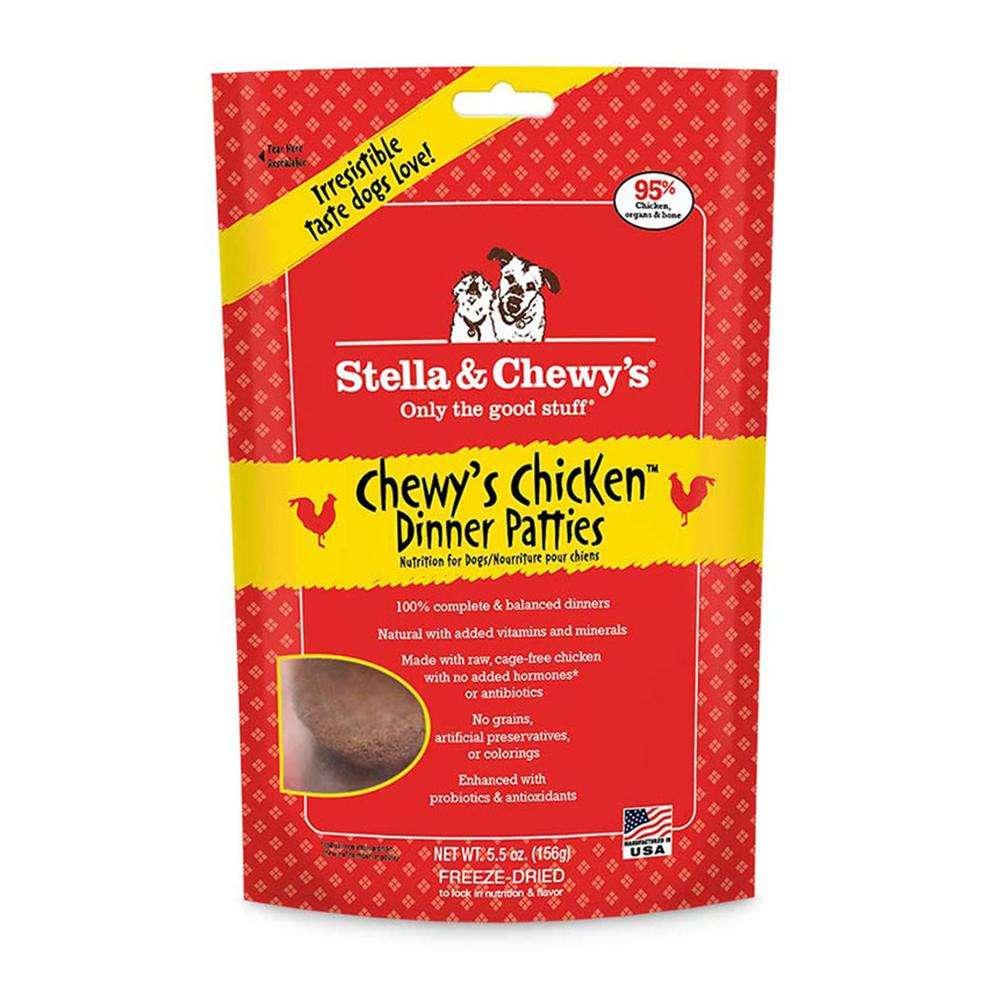 Stella & Chewy's Chicken Freeze Dried Dog Food 6-oz