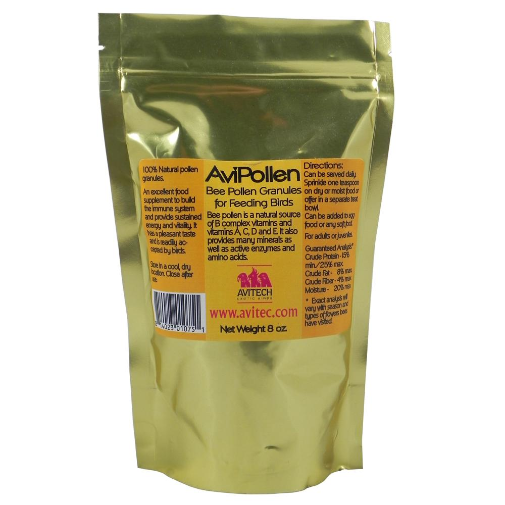 Avitech Avipollen Bee Pollen Bird Food Supplement 8oz