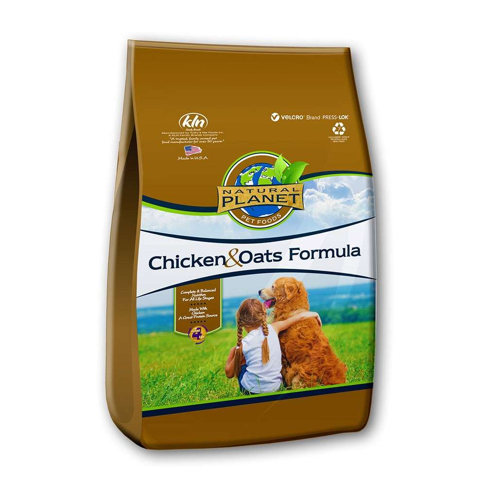 Natural Planet Organics Organic Dry Dog Food 5Lb.