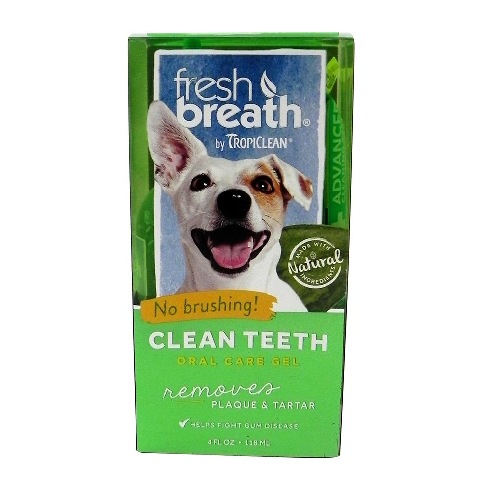 Tropiclean Clean Teeth Dental Gel for Dogs and Cats 4-oz.