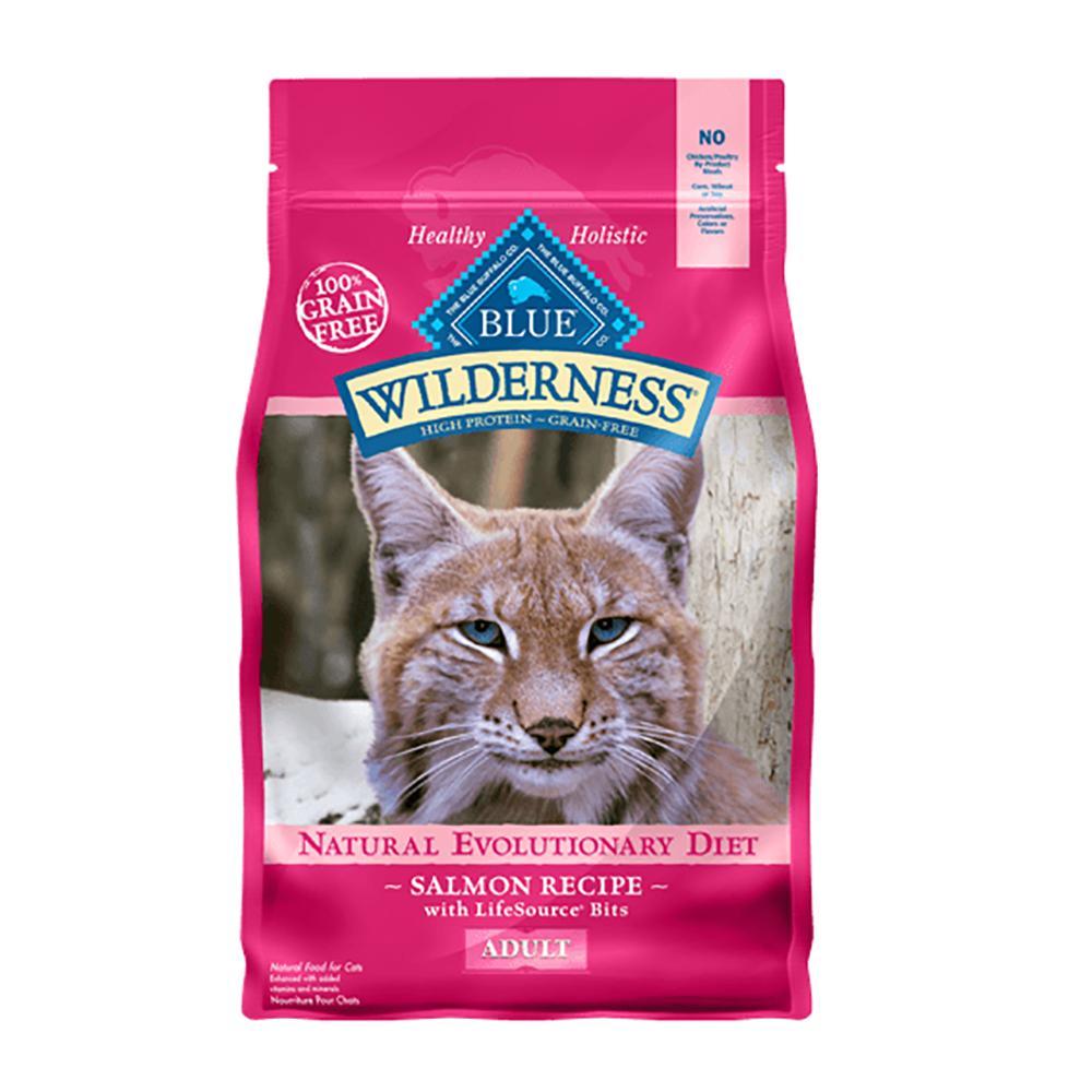Blue Buffalo Wilderness Salmon 5 lb Cat Food