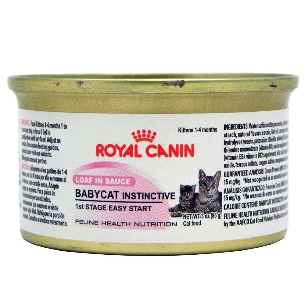 Royal Canin BabyCat Instinctive Mousse Kitten Food 3-oz. Ea