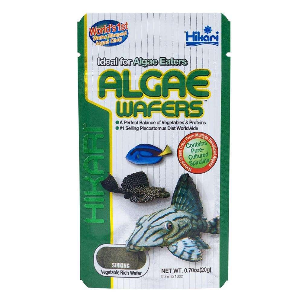 Hikari Tropical Algae Wafers Fish Food 1.41-oz.