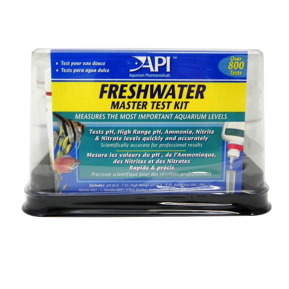 Api freshwater master aquarium test kit aquar test equipment at arcata pet supplies - Api up ...