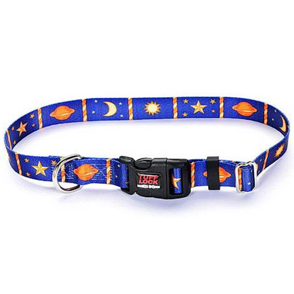 Tuff-Lock Large Heavenly Adjustable Nylon Dog Collar