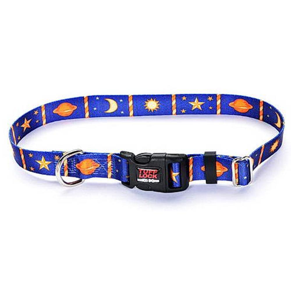 Tuff-Lock Medium Heavenly Adjustable Nylon Dog Collar