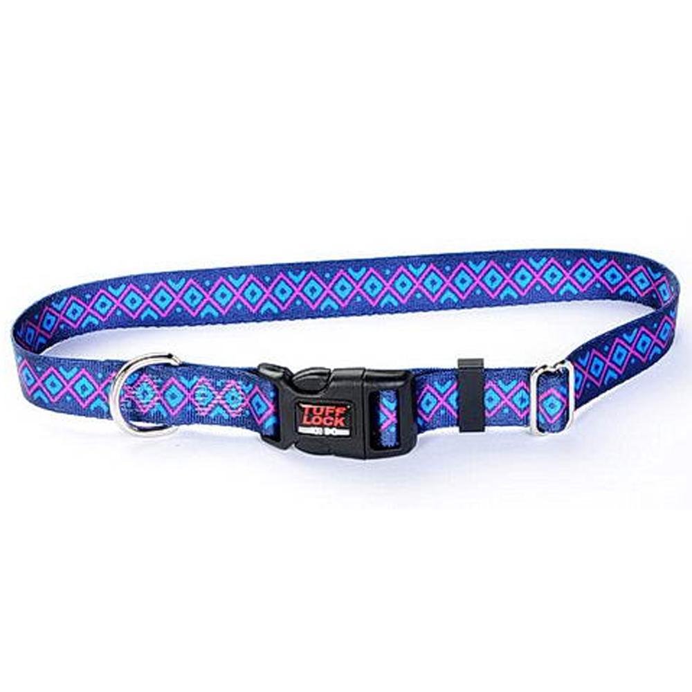 Tuff-Lock Small Inca Adjustable Nylon Dog Collar