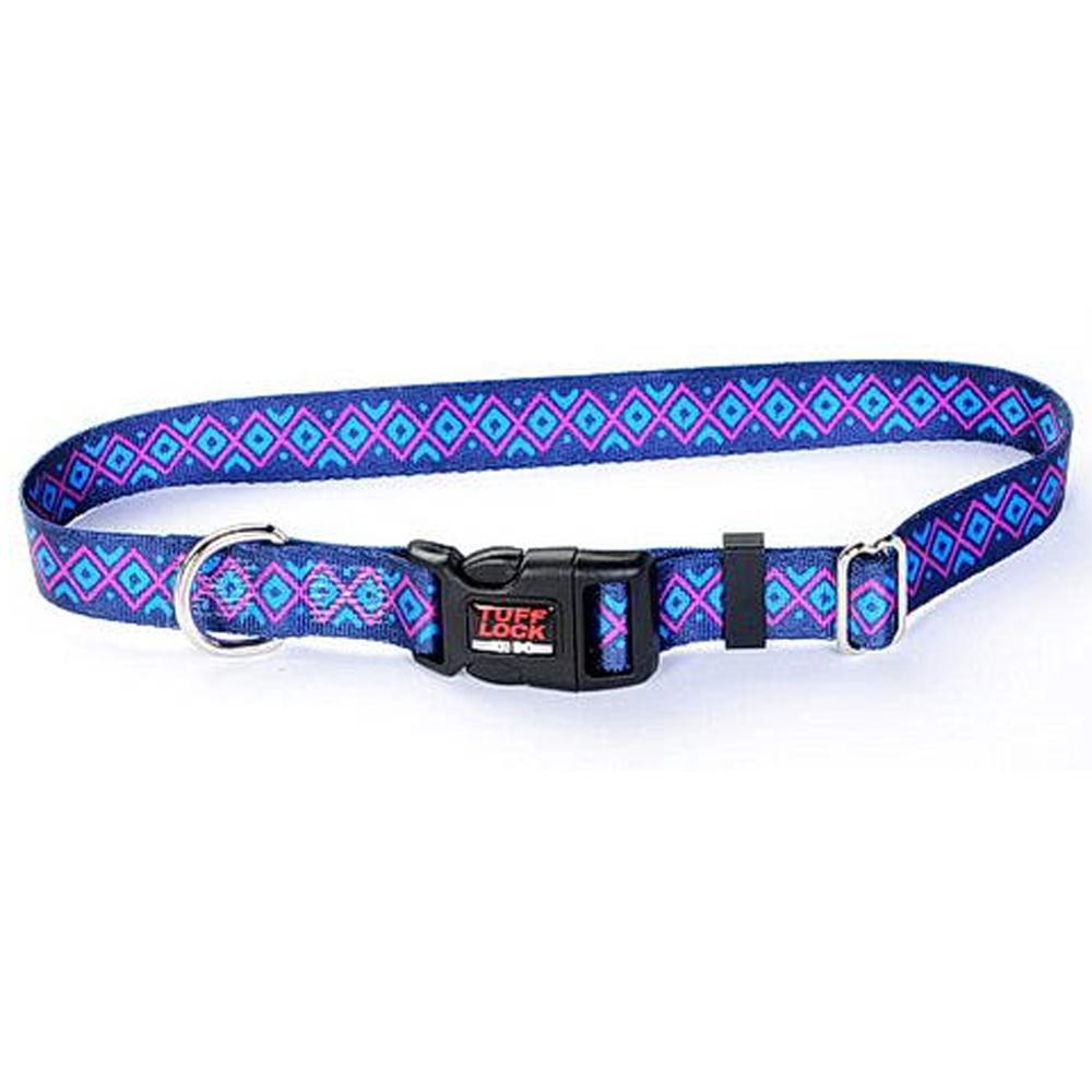 Tuff-Lock XSmall Inca Adjustable Nylon Dog Collar