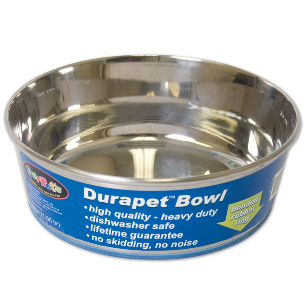 Durapet Premium Stainless Steel Pet Bowl 3 Quart