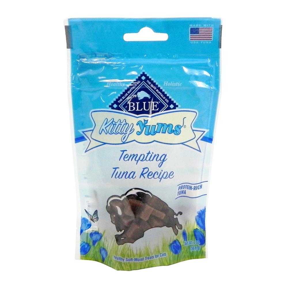 Blue Buffalo Kitty Yums Tempting Tuna Cat Treats 2-oz.