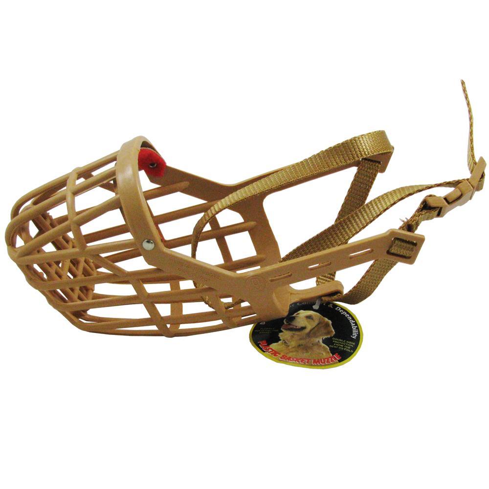 Dog Muzzle, Flexible Basket Size  9