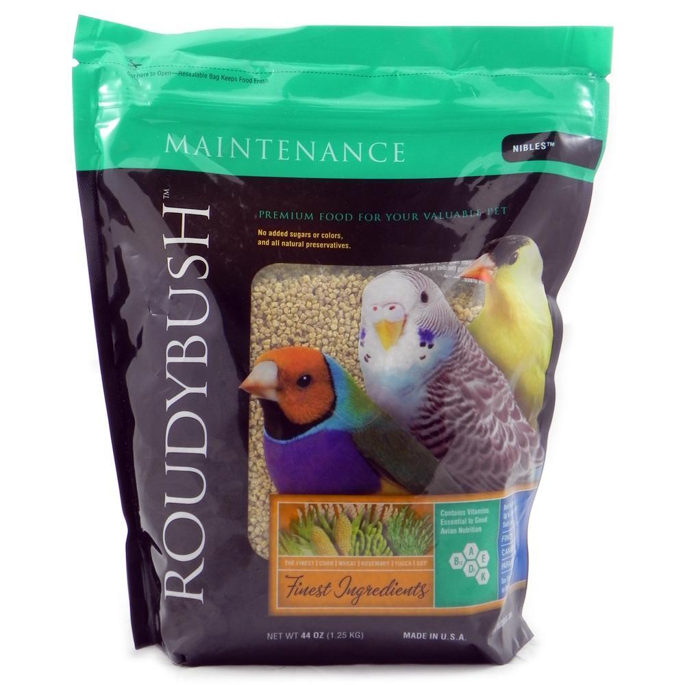 Roudybush Daily Maintenance Bird Food Pellet Nibles 2.75 Lb