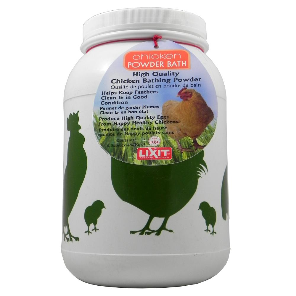 Chicken High Quality Dust Bath by Lixit 5.5 lb
